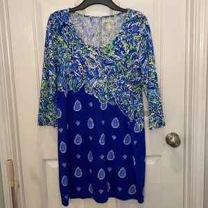 NWT Lilly Pulitzer Beacon T Shirt Dress size Large